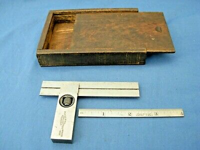 Vintage Moore And Wright No 414 Adjustable Square With Interchangeable Blades  • 48£