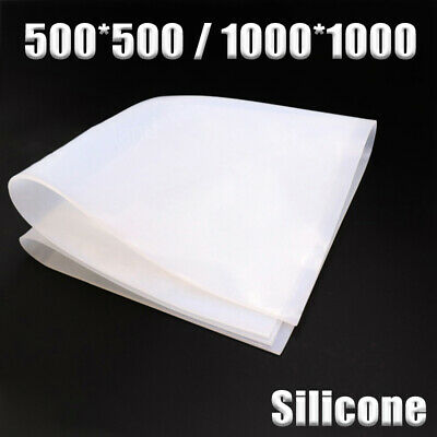 Silicone Rubber Sheet Pad Translucent HIGH TEMP Silicone Gasket Board • 5.73£