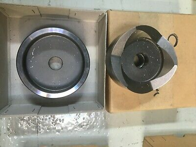 SML 80mm Dia Round Punch And Die In Box • 35£