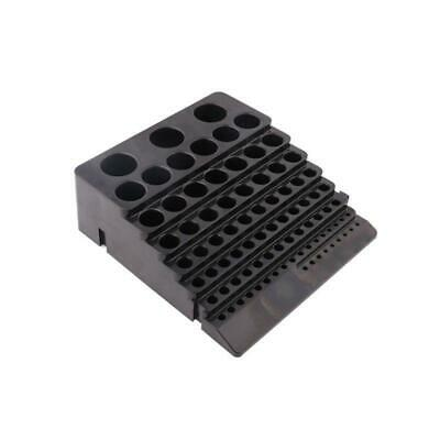 Black Drill Bit Storage Box Milling Cutter Drill Finishing Holder Organizer Case • 7.54£
