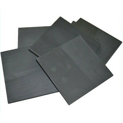 Rectangle Graphite Plate Sheet Supplies 5pcs Accessories 50x40x3mm Replacement • 6.78£