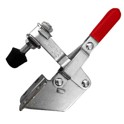 220 Lbs Antislip Red Plastic Cover Handle Tool Toggle Clamp GH-101B OT8G • 7.98£