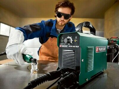 Parkside Plasma Cutter + Accessories, PPS 40 B2, New With 3 Year Warranty (16A!) • 170£